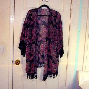 Daniel Rainn Size 2x/3x Kimono top